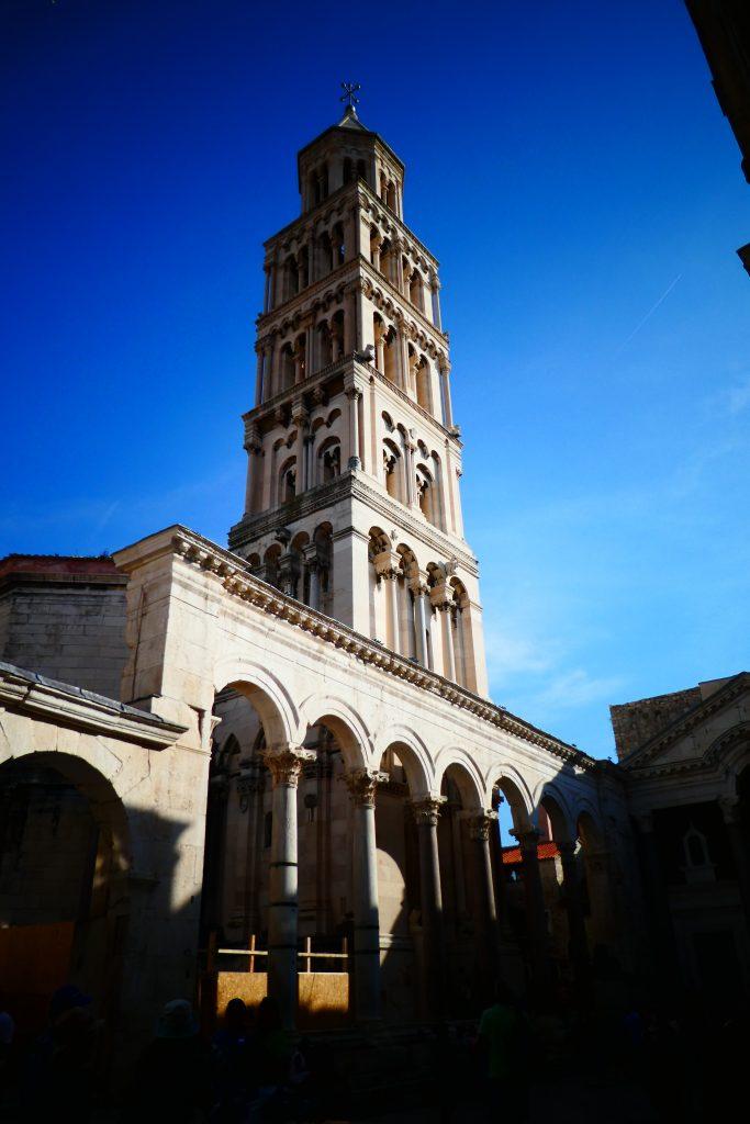 Klokkentoren Paleis van Diocletianus in Split